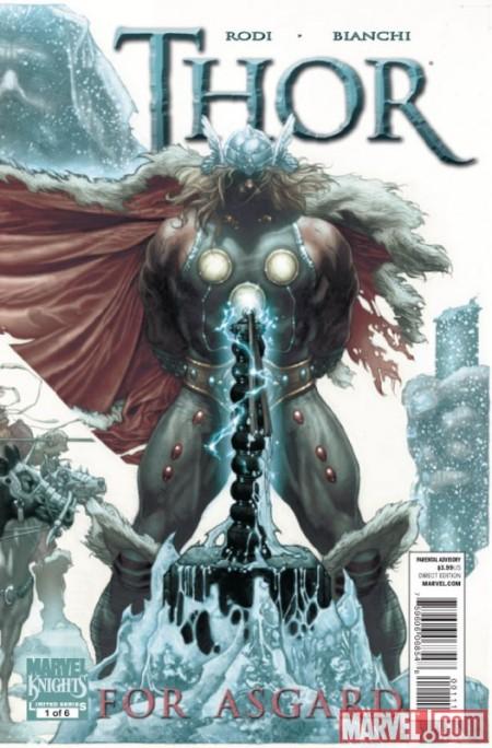 Thor: For Asgard #1 Cover