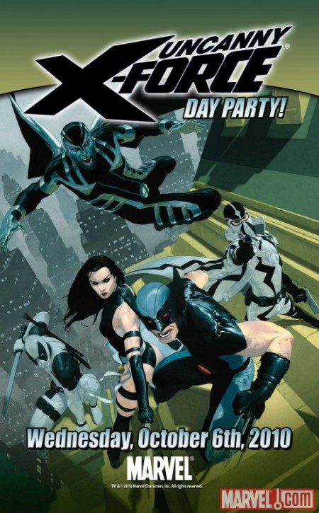 Uncanny X-Force Day Invite