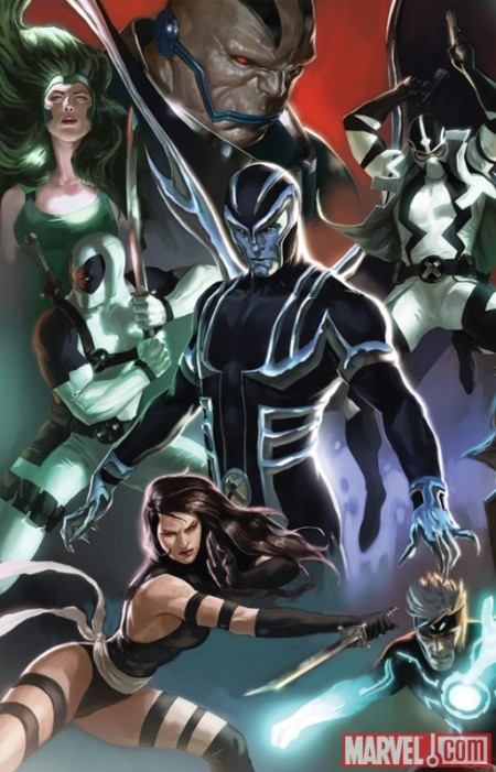 Uncanny X-Force #1 Cover MDVariant