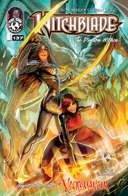 Witchblade #137 COVA stamped