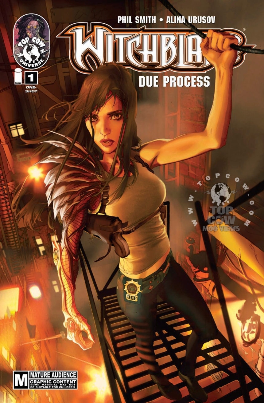 Witchblade: Due Process #1 COVA_stamped