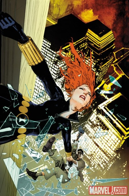 Black Widow #7 COVER