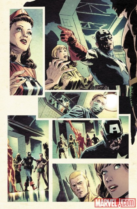 Captain America: Patriot #3 Preview3