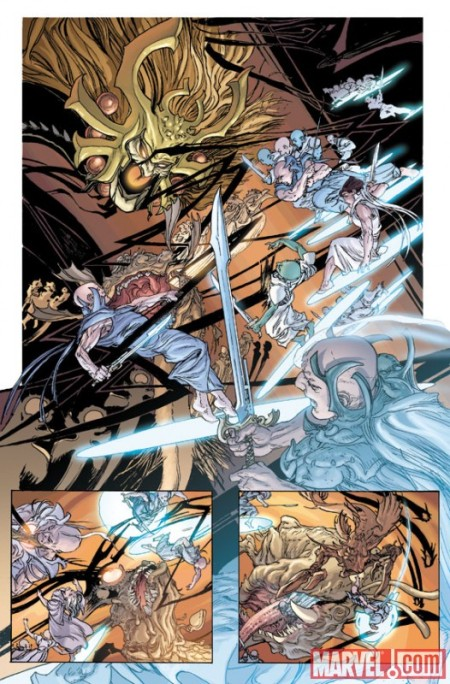 Chaos War: Chaos King #1 PREVIEW2