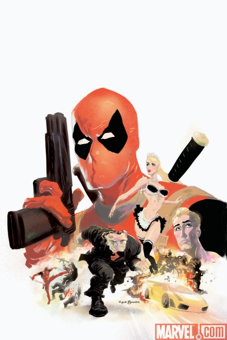 DeadpoolMAX #1 COVER