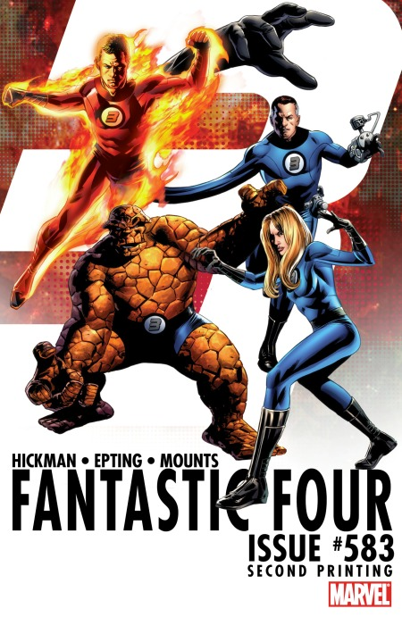 Fantastic Four #583 2nd Printing Cover
