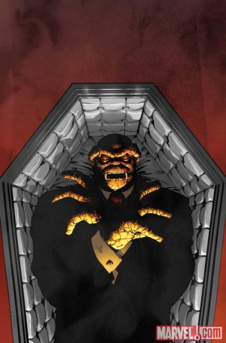 Fantastic Four #584 cover vampire variant
