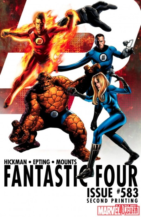 Fantastic Four #583 Second Printing