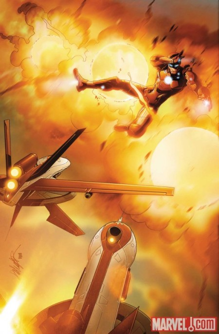 Invincible Iron Man #31 COVER