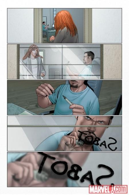 Invincible Iron Man #31 Preview1