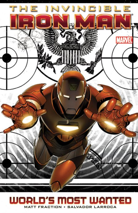 Invincible Iron Man World's Most Wanted Cover
