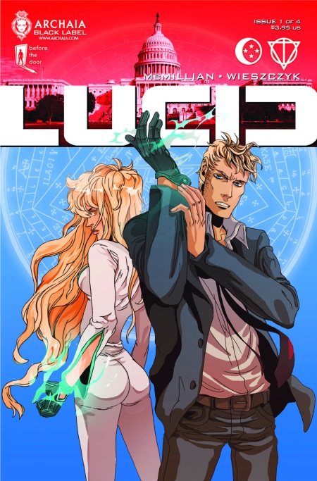 Lucid #1 Cover