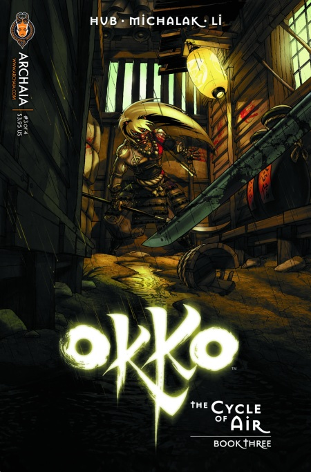 Okko The Cycle of Air 003 Cover