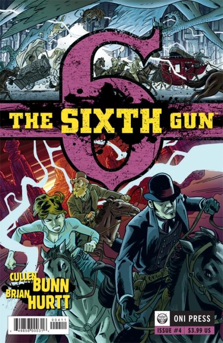 SIXTH GUN #4 COVER