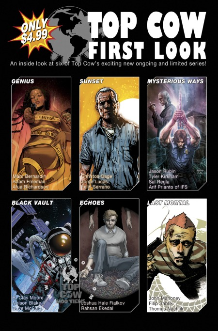 Top Cow First Look TPB 2010