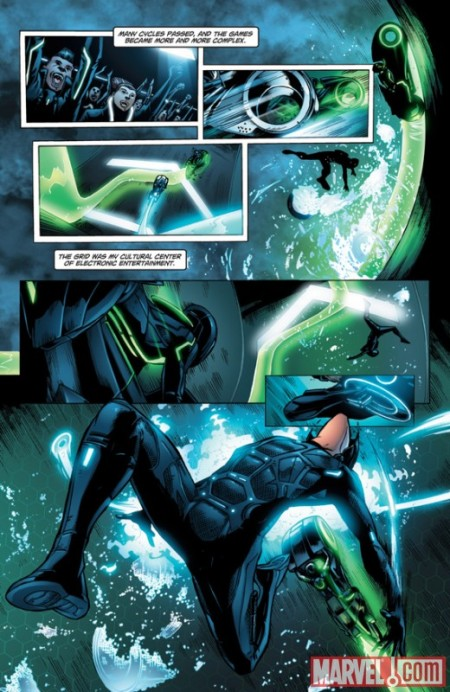 TRON: BETRAYAL #1 PREVIEW1