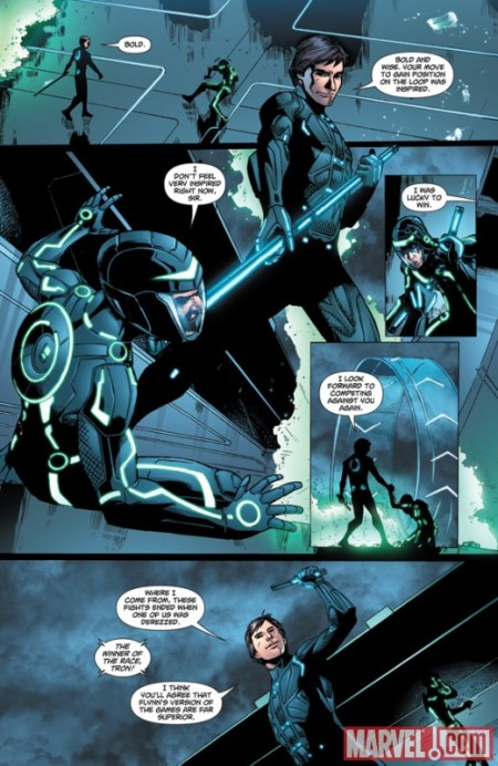 TRON: BETRAYAL #1 PREVIEW3