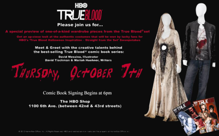 True Blood Comic Book Signing