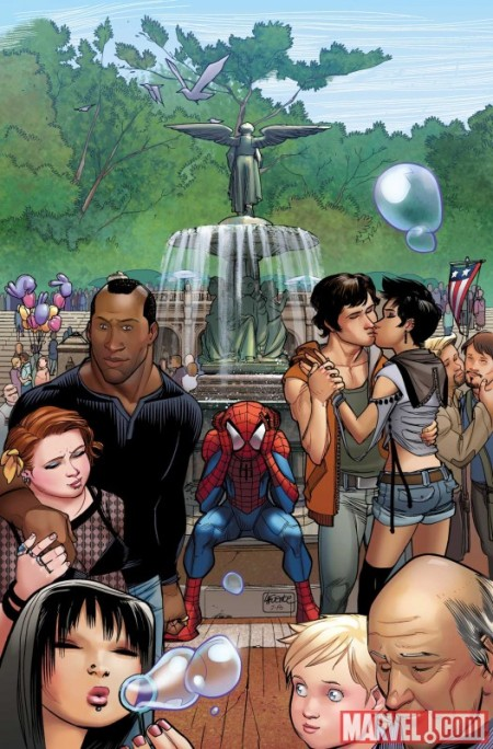 Ultimate Comics Spider-Man #15 COVER