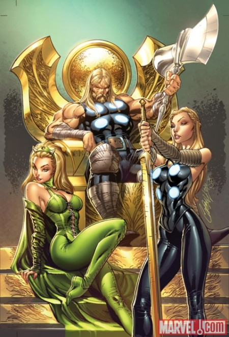 Ultimate Comics Thor #1 J. Scott Campbell