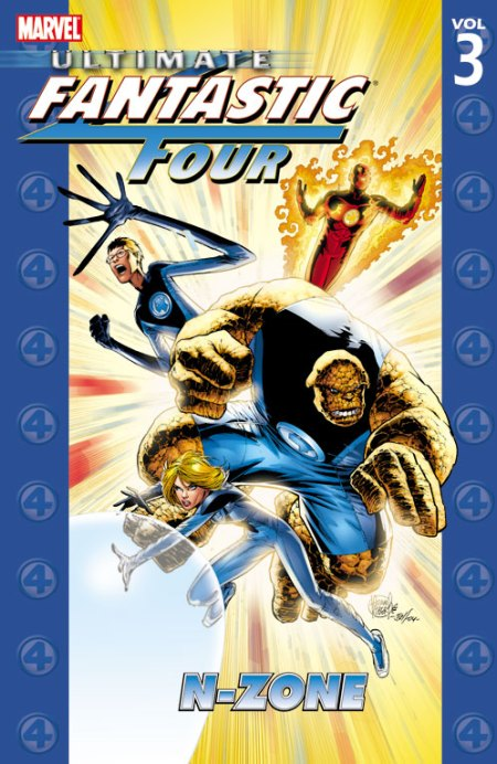 Ultimate Fantastic Four N-Zone cover