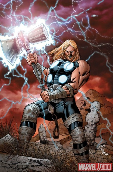 Ultimate Comics Thor #1 Cover