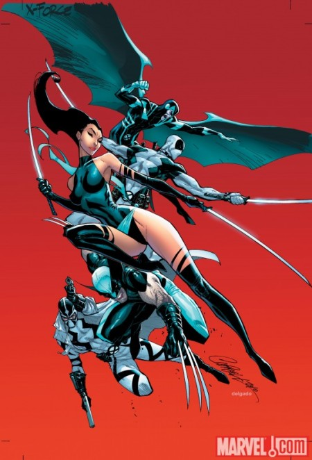 Uncanny X-Force #1 CAMPBELL