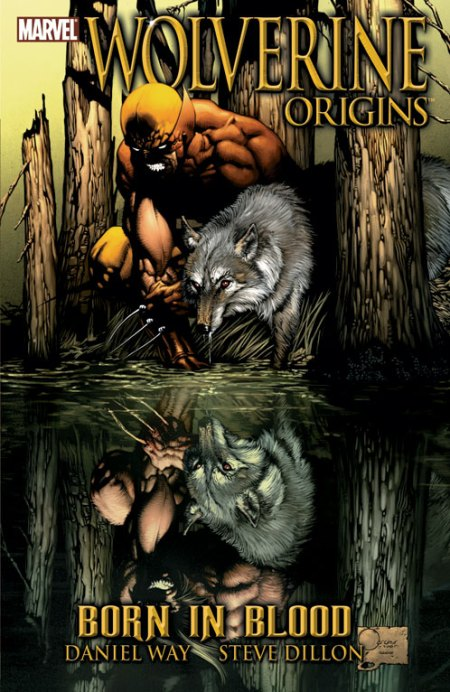 Wolverine Origins: Born in Blood cover