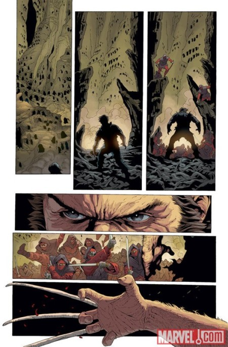 WOLVERINE #2 Preview1