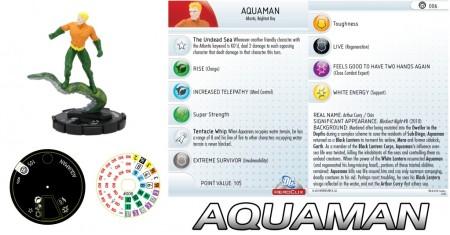 Heroclix Brightest Day Aquaman