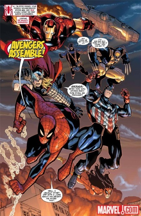 Amazing Spider-Man #648 PREVIEW1