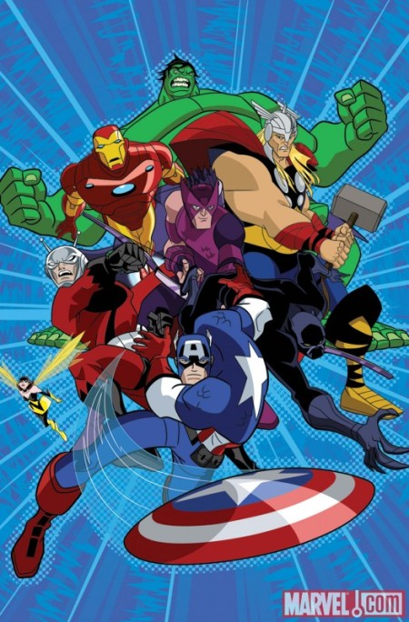 Avengers: Earth's Mightiest Heroes #1 COVER