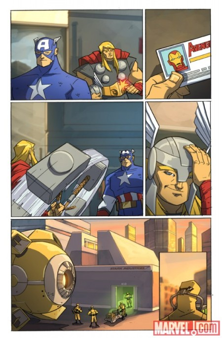 Avengers: Earth's Mightiest Heroes #1 PREVIEW5