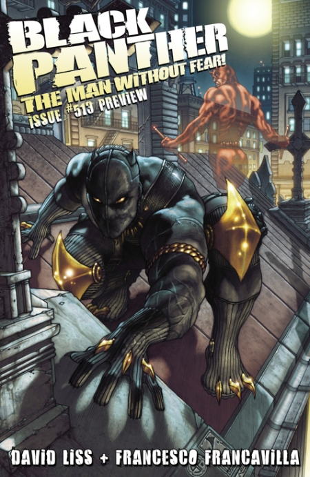 Black Panther: The Man Without Fear #513 Cover