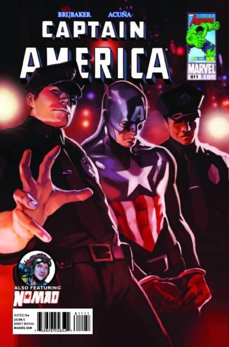 Captain America #611