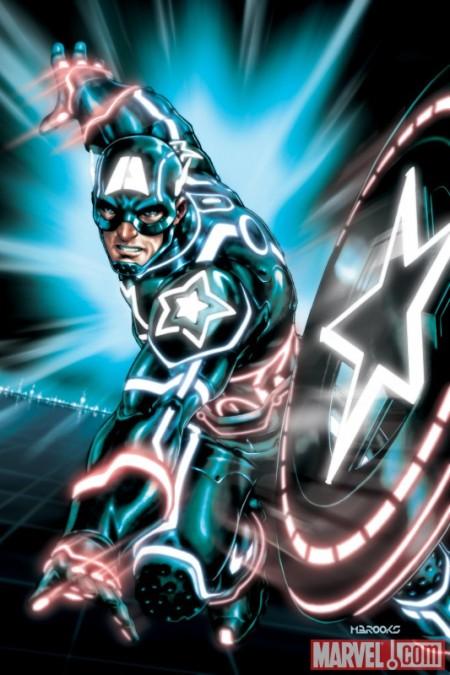 Captain America #612 Tron Variant