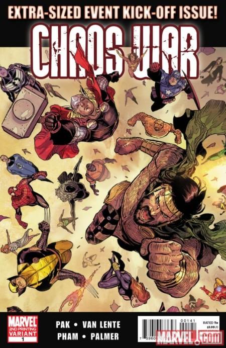 Chaos War #1 2ND Printing