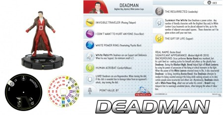 Heroclix Brightest Day Deadman