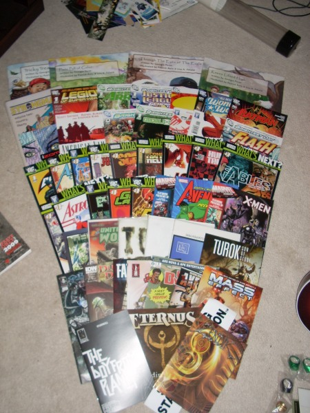 New York Comic Con 2010 Comics