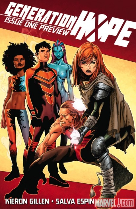 Generation Hope #1 COVER