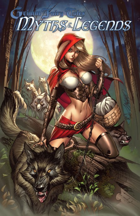 Grimm Fairy Tales Myths and Legends cover B