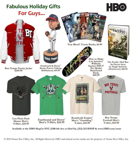 HBO Gifts for Guys