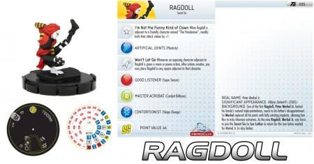 Heroclix Ragdoll