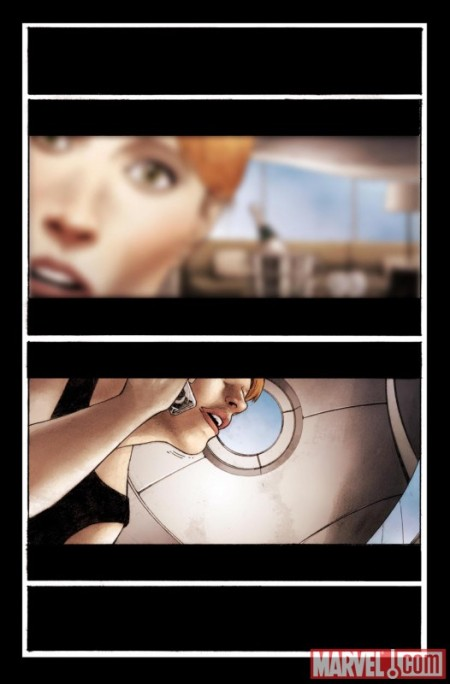 Iron Man Rapture #1 PREVIEW1