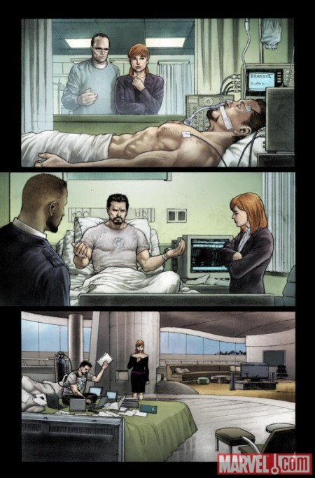 Iron Man Rapture #1 PREVIEW2