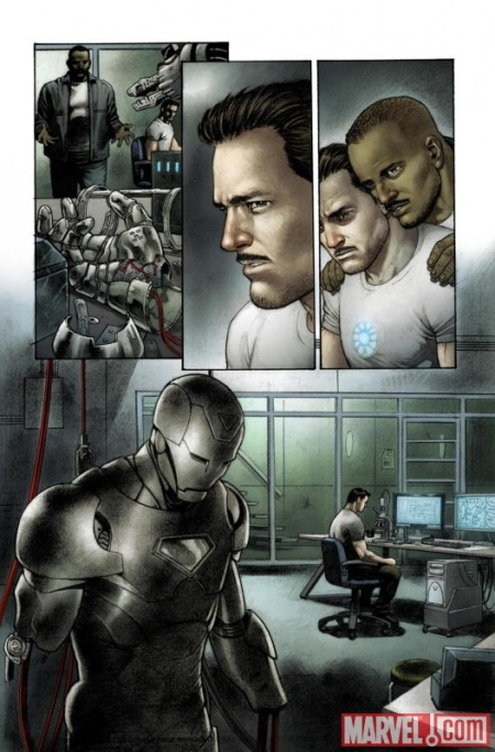 Iron Man Rapture #1 PREVIEW3