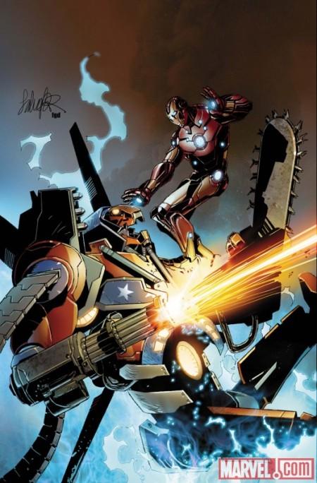 Invincible Iron Man #32 COVER