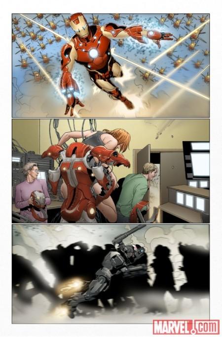 Invincible Iron Man #32 PREVIEW1