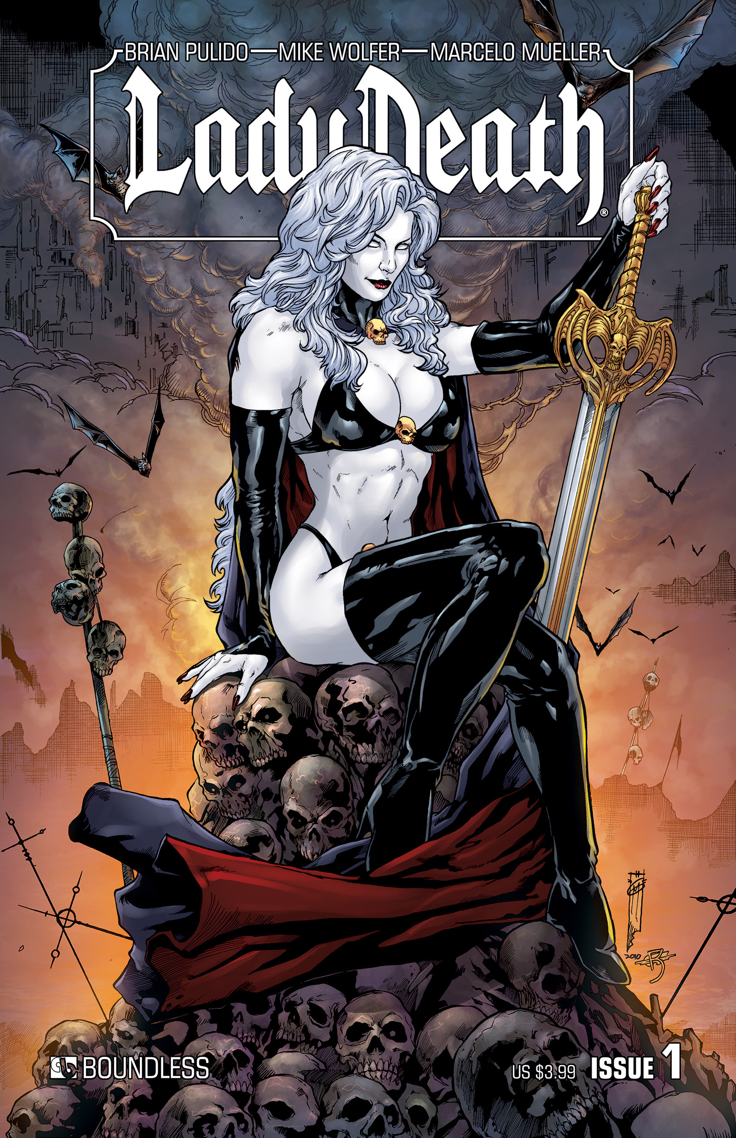 Lady death hentia image