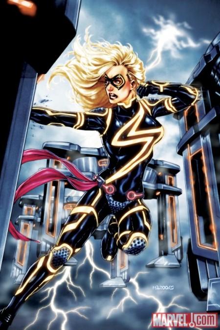 New Avengers #7 Tron Variant